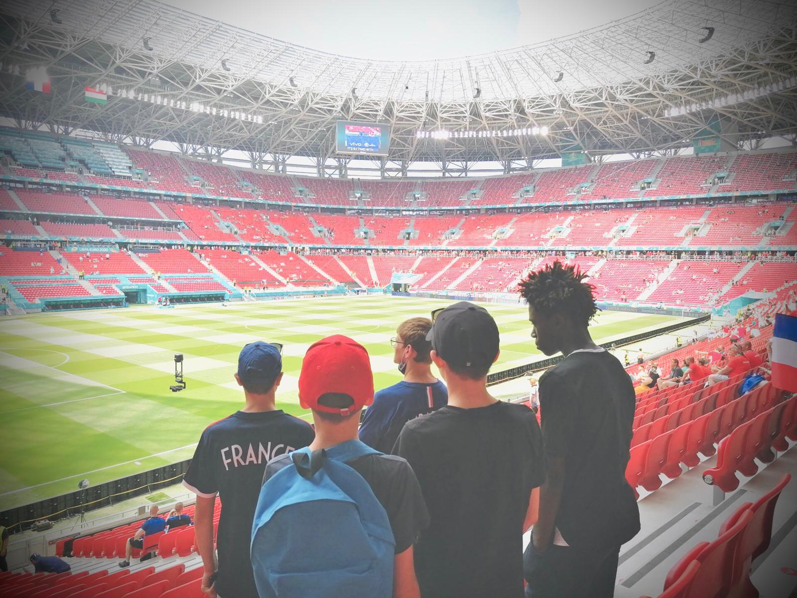 Match de l'euro de football 2021