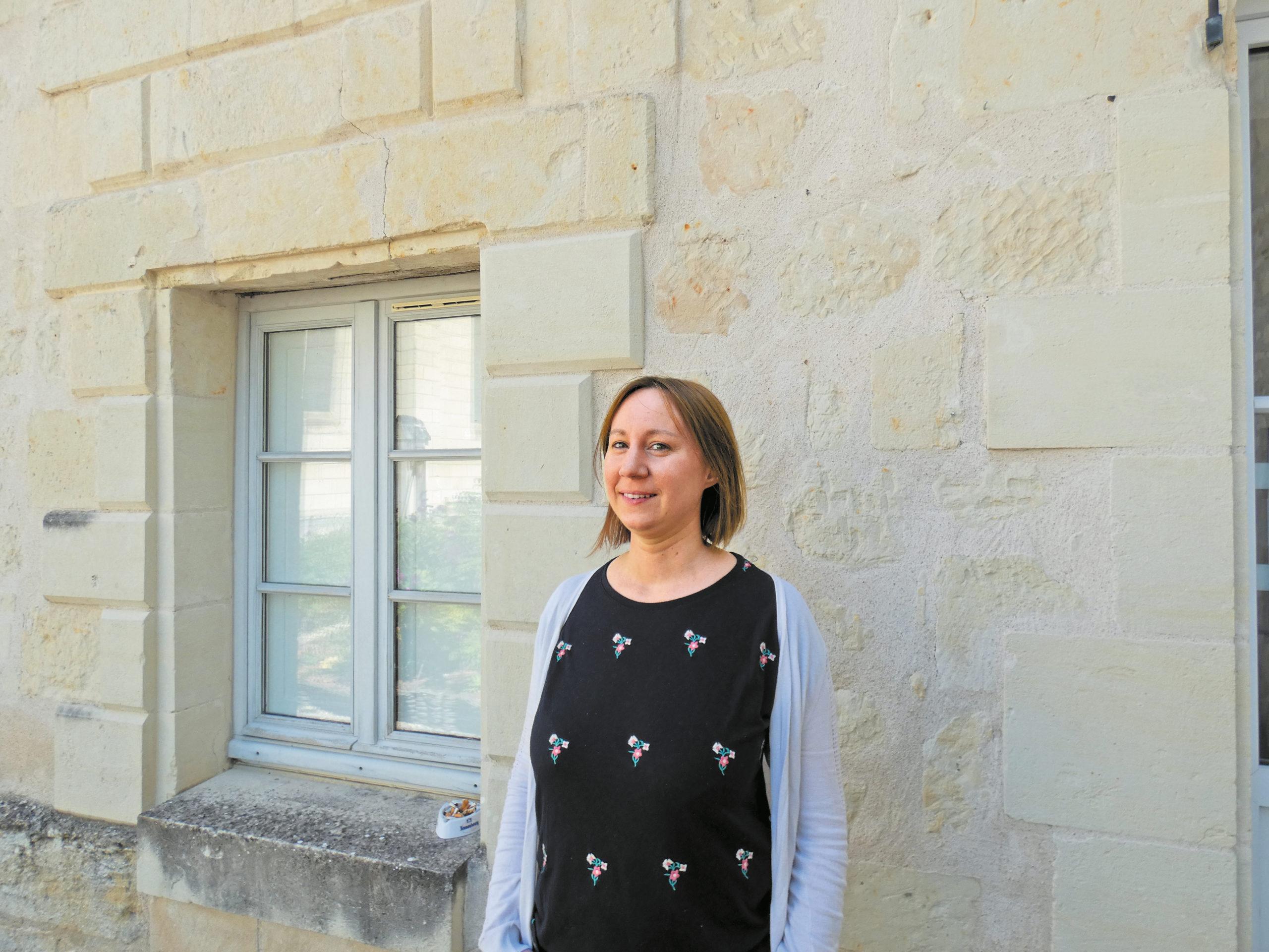 Céline Mercier chef de service au Village de Chinon