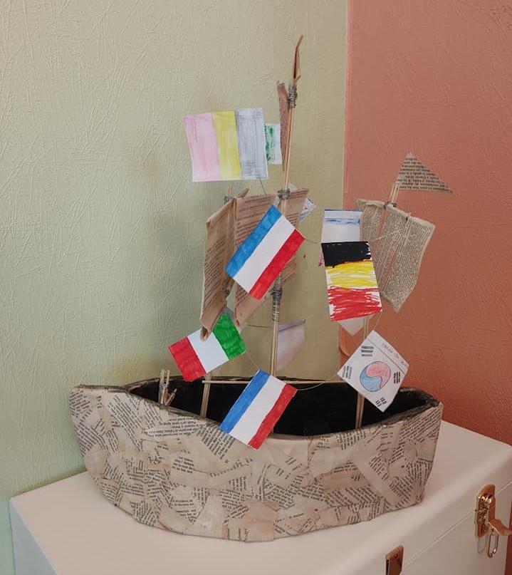 Trophée fabriqué par le Village d'Amboise