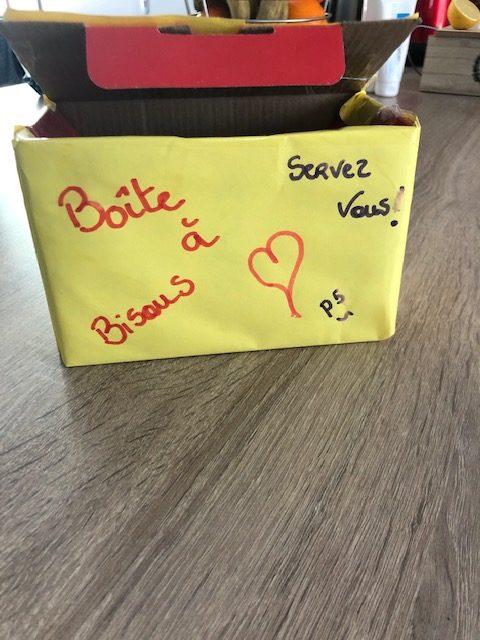La boîte à bisous du Village d'Enfants de Soissons